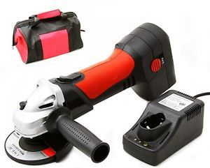 24 Volt Battery Powered 24V Operated Cordless Power Angle Metal Grinder Tool Kit