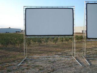 x9 39 backyard outdoor projector screen diy kit