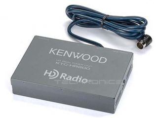 Kenwood KTC HR200 HD Radio Tuner Box Select Kenwood KDC DNX KTS Car Receivers