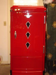 Vintage 1937 Frigidaire Refrigerator Antique