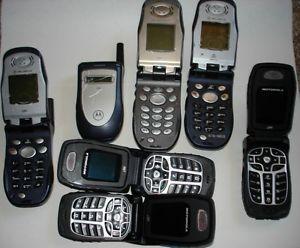 Nextel Motorola Flip Phones I90 I560