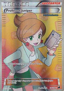 Professor Juniper 116 116 Full Art Ultra RARE Plasma Freeze Pokemon Card