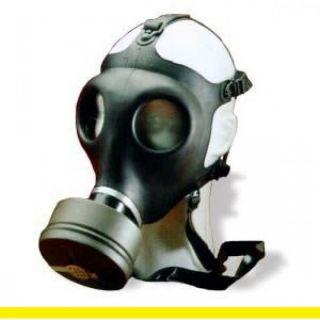 Israeli Civilian Gas Mask w NATO NBC SEALED Filter Air Tight Seal Stay Potected