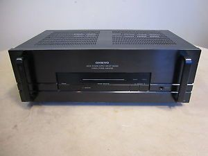Onkyo M 5140 Home Power Amplifier Amp Used