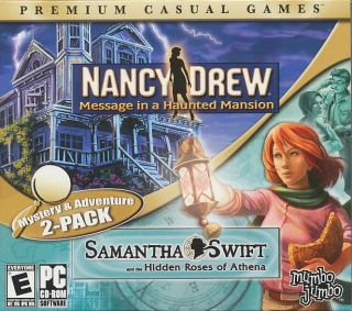 Nancy Drew Message in A Haunted Mansion Samantha Swift Hidden Roses of Athena 811930107567