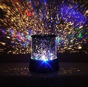 Black Romantic Sky Star Master Projector Lamp LED Night Light with USB Cable US