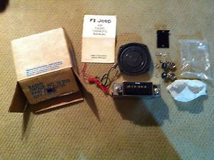 Jeep Am Radio Kit Speaker Knobs CJ5 CJ7 CJ8 FSJ Cherokee Wagoneer J10 J20