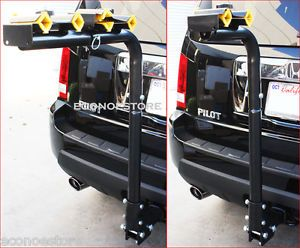 "2"" Hitch Mount Bicycle Rack Carrier Rear Mounted 4 Bike Rack Carrier Swing Down"