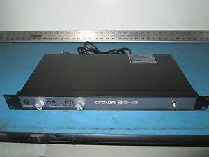Crown D 45 2 Channel Power Amplifier Rack Mount