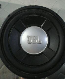 "2 JBL Grand Touring GTO1004D 1 Way 10"" Car Subwoofers"