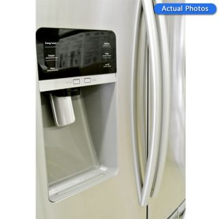 Samsung RFG297HDRS 29 CU ft French 3 Door Refrigerator Stainless Steel 6419