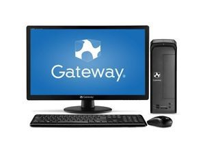 "Gateway SX2110G UW308 Desktop PC 21 5"" LED Monitor AMD E1 1200 1 4GHz 4GB 500GB"
