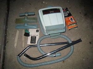 """Vintage Eureka Canister Vacuum Cleaner Model 745""""Cordaway"""""""