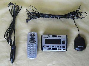 Sirius Starmate ST1 Portable Satellite Radio Car Power Adapter Antenna Remote
