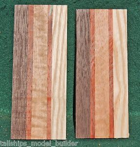 Goncalo Alves Exotic Turning Wood Cue Components Cue Building Parts