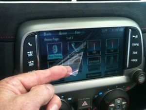 2013 Camaro Radio Touch Screen Protector