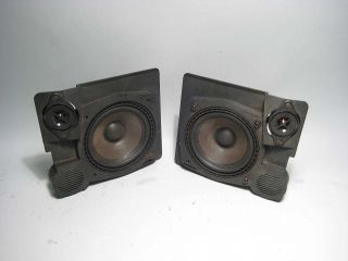 BMW E34 E32 Rear Shelf Speaker Pair 88 95 525i 530i 535i 540i M5 735i 740IL