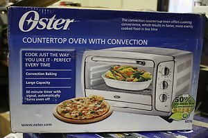 Oster 6 Slice Extra Capacity Toaster Ovens Convection Ovens 6056 ...