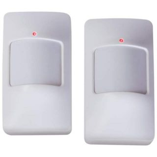 2 Mock Fake Security Monitor Set Motion Sensor Home Alarm System Intruder Alert
