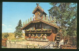 World's Largest Cuckoo Clock Wilmot Ohio Postcard 1982