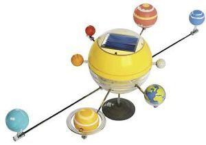 Mini Solar System Kit Solar Power Toy Model Orrery OWI