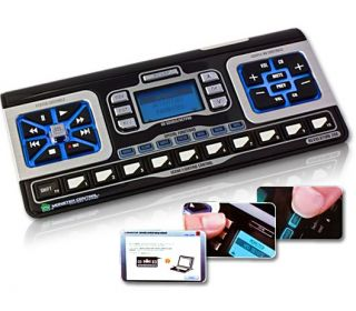 Monster avl 200 Universal Home Theater Lighting System Remote Control Screen