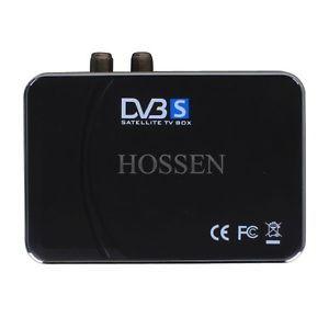 USB Digital Satellite DVB s TV Tuner Receiver Box DVR for Laptop PC US Plug