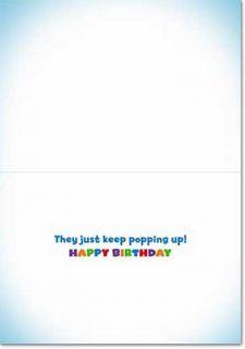 Prairie Dogs in Hats Lenticular Motion Birthday Card by Avanti Press