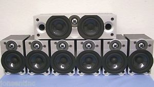 Energy 7 1 Encore Center Channel 6 Surround Sound Home Theater Speaker System