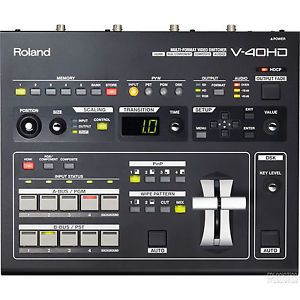 Roland V 40HD High Definition Multi Format Video Switcher V40 HD Video Mixer