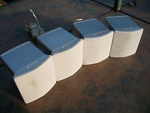 4 Sony SS TS500 Surround Sound System Speakers Home Theater