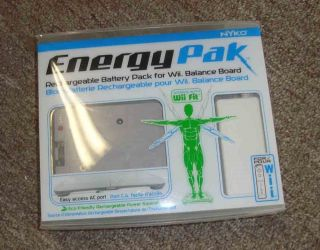 New Nyko Energy Pak for Wii Balance Board Wii Fit Rechargeable Battery Pack