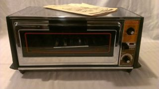 Vintage GE General Electric Toast'N'Broil Toast R Oven Toaster Oven Works A63126
