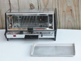 Vintage GE General Electric Deluxe Toaster Oven Toast R Oven