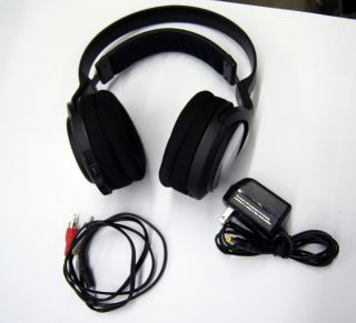 Sony MDR RF925RK 900MHz RF Wireless Stereo Headphones Auto on Off 3 Channel