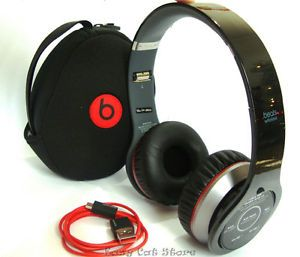 New Monster Beats by Dr Dre Wireless Headphones with Bluetooth Black