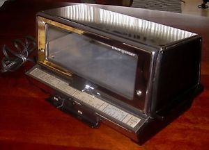 Vintage General Electric Deluxe Toast R Oven Toaster Oven 51T93 Great Condition
