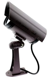 New Outdoor Dummy IR Security Camera Fake Surveillance