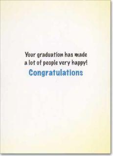 Teacher's Lounge Funny Graduation Card Greeting Card by Avanti Press