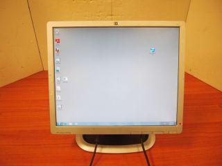 """HP LA1951G EM890A 19"""" LCD Monitor DVI VGA USB Hub 1280x1024 884962221006"""