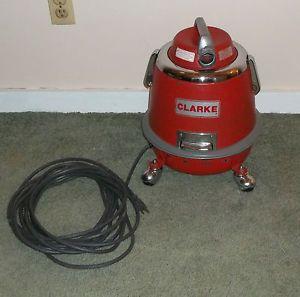 Vintage Clarke Royal Canister Vacuum Cleaner Model 315