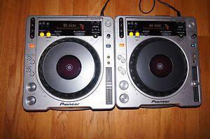 Pioneer CDJ 800: DJ Turntables
