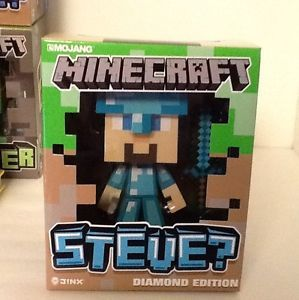 Minecraft Steve Diamond Edition Jinx Very Limited Urban Vinyl Video Game