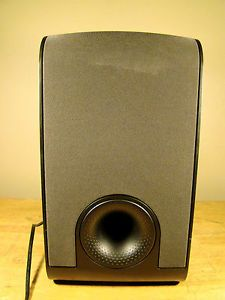 AS1 Active Subwoofer Black Bowers Wilkins