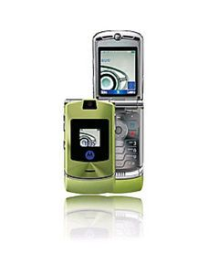 Motorola RAZR V3i Green Unlocked Flip Phone Original USA Seller SB