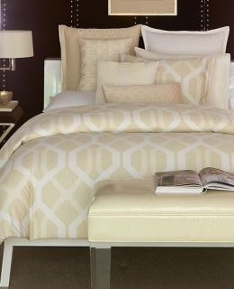 Hotel Collection Modern Nexus Ivory Cream Full Queen Comforter