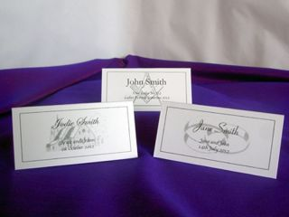 Personalised Table Place Setting Name Cards Wedding Masonic Meal Party Meeting