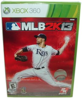 Xbox 360 MLB 2K13 2013 Baseball 2K Sports Video Game Brand New Factory SEALED
