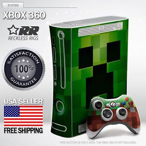 Minecraft Creeper Skins for Xbox 360 Free Bonus Controller Skin