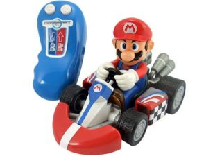 Mario Kart Wii Remote Control Car Nintendo Character RC Toy